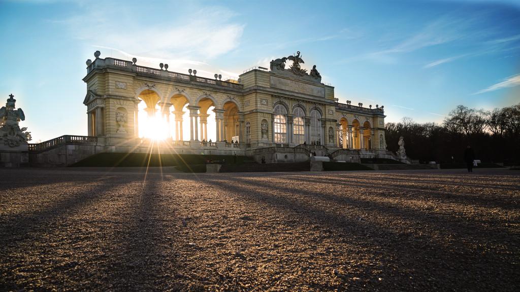 Gloriette beim Schloss Schönbrunn in Wien